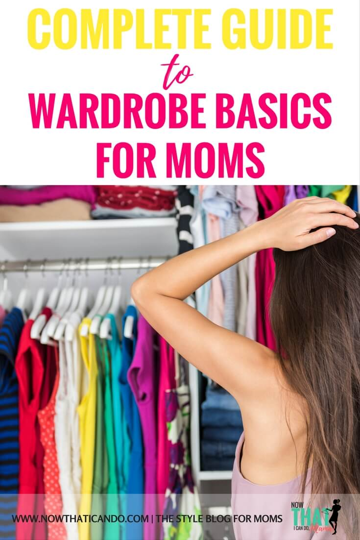 List of everyday wardrobe essentials for busy moms! If you're transitioning between pregnancy or a mother on the go, this basic guide covers the casual but cute pieces you need to fight the mom frump! This website is so budget friendly!