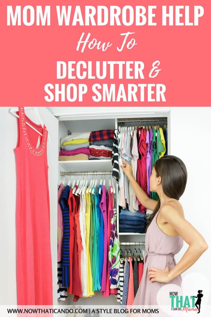 It's possible for busy moms to dress better, and still be casually comfortable. It just takes a plan for what to have in your closet. Stop feeling like you have nothing to wear! This blog shows you how to create a mom wardrobe that is flexible (think postpartum or nursing) while being budget friendly!  Helps you find your style, clean up/declutter, and create a smarter shopping list.