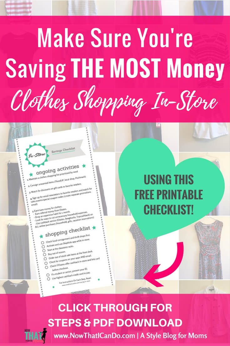 How to Create a Smart Wardrobe Shopping List (+ free ...
