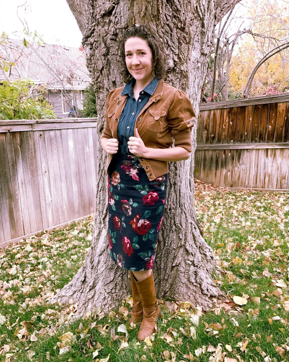 Credit: Johanna in Frumpy Fighters. Click for outfit formula.