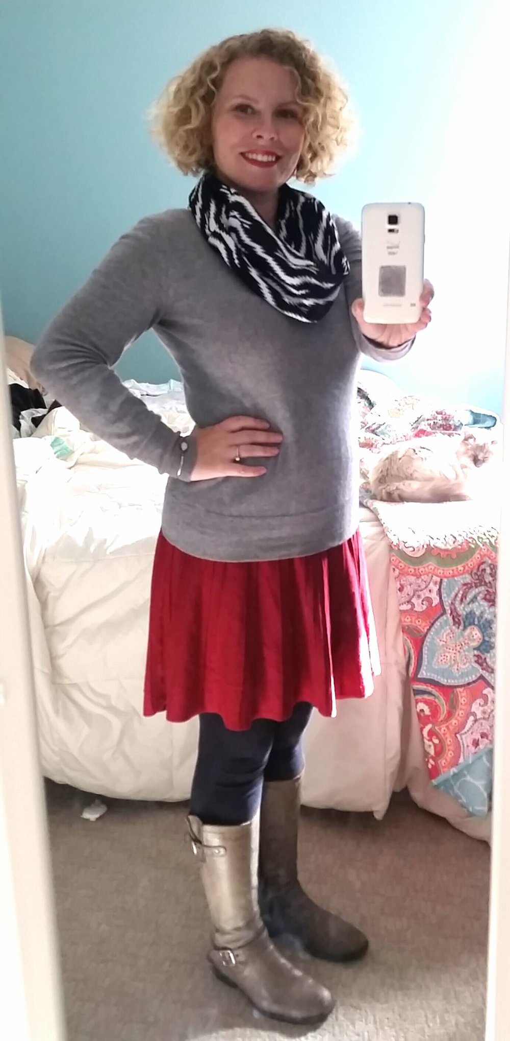 Credit: Mary in Frumpy Fighters. Click for outfit formula.