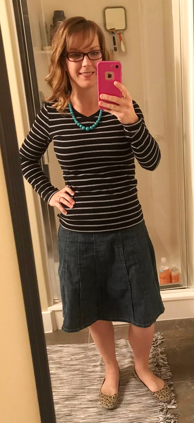 Credit: Kathryn in Frumpy Fighters. Click for outfit formula.
