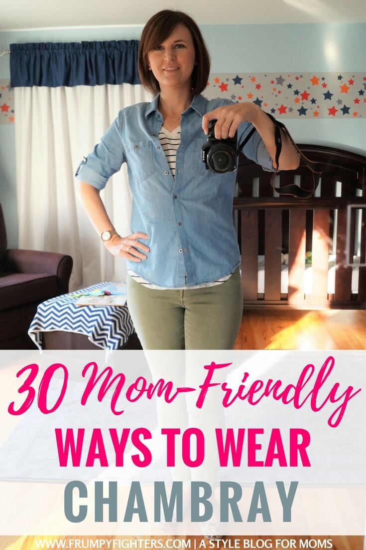 52d1ad9805f1c Tons of outfit ideas and ways to wear my chambray button-down shirt or denim