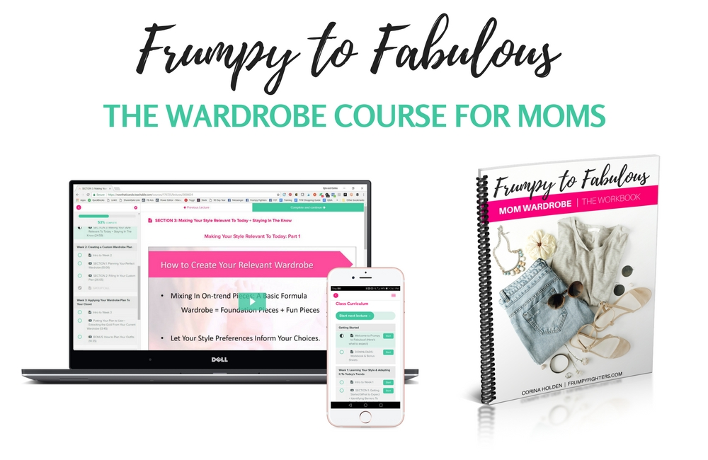 Frumpy to fabulous for moms