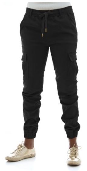 Riflessi Women's Twill Cargo Jogger Pants on Walmart.JPG