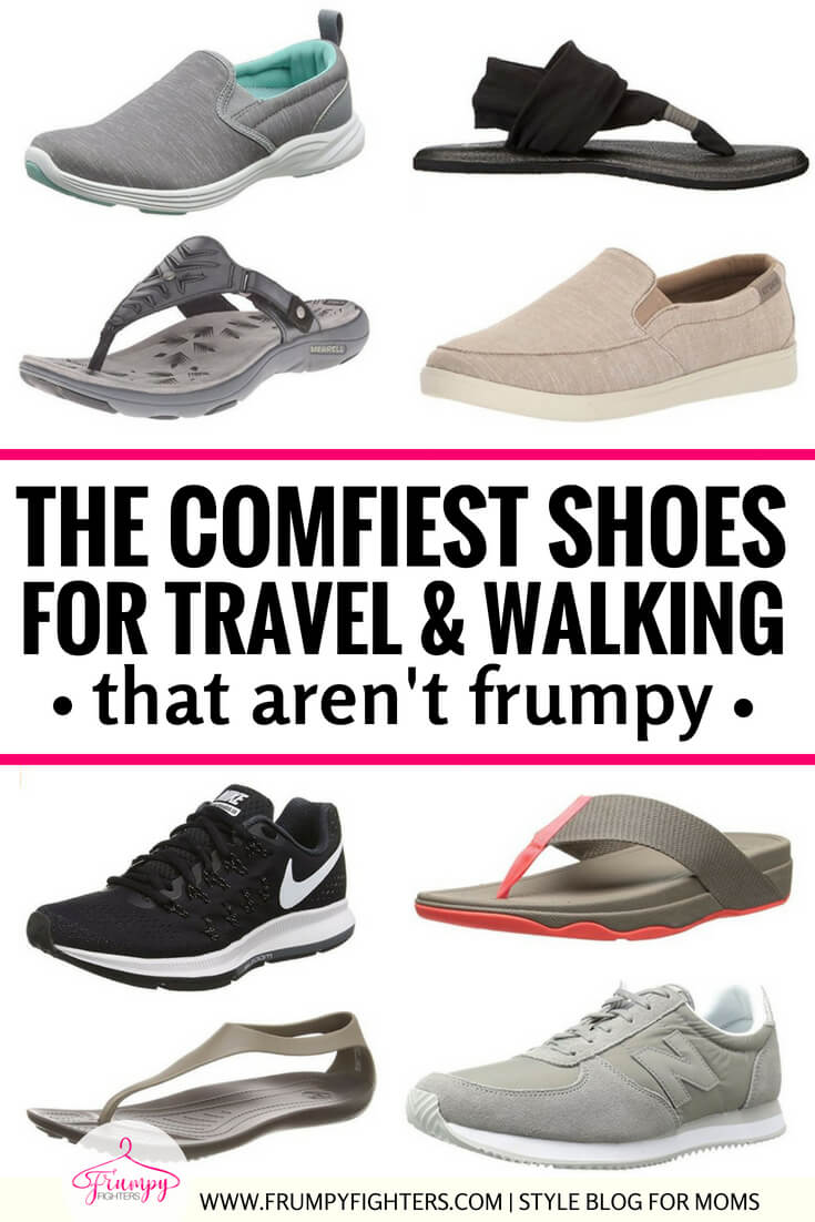 As a mom, not only do I spend my days chasing kids around the house, I also have to keep up with them at the park, or on summer vacation or just out running errands! I loved this simple list of the most comfortable Amazon shoes and sandals that are great for walking, standing, and even just keeping up with my busy life! There are options for the busy woman in all of us: sporty sneakers, stylish sandals, and casual slip-ons, with the most important factor being comfort! #shoes #fashion #style