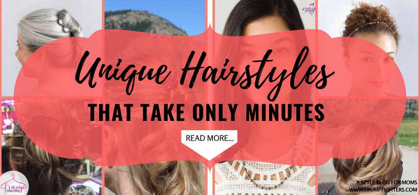 If you are a mom, you know how easy it is to throw your hair in a ponytail as you run out the door for school, work or errands. There's always time for a ponytail, but what if I told you I found some quick, easy ways to do your hair that don't take any longer than that? I found these hair style ideas that are mom-friendly and use just one hair accessory to do them all! #tips #fashion #mom #ideas #style #tricks #momlife #outfits #easy #clothes #howto #hairstyles #easyhair