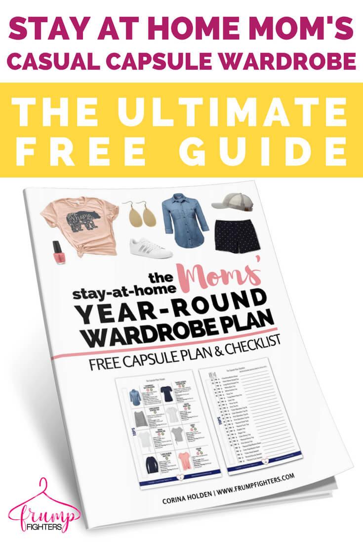 The Ultimate SAHM Capsule Plan (free printable checklist) + Steps to ...
