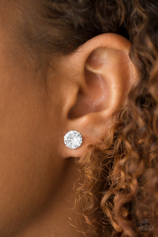 Earrings shown: Paparazzi - Just in Timeless in Gold