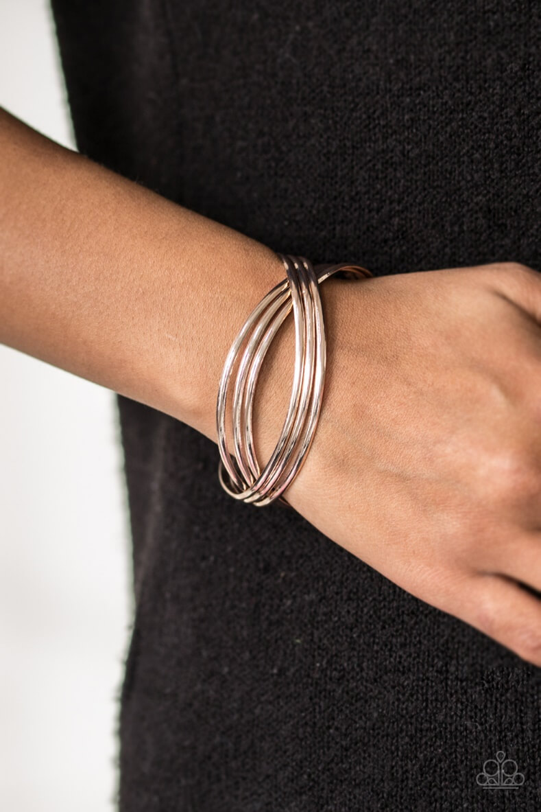 Bracelet shown: Paparazzi – Fashion Scene in Rose Gold