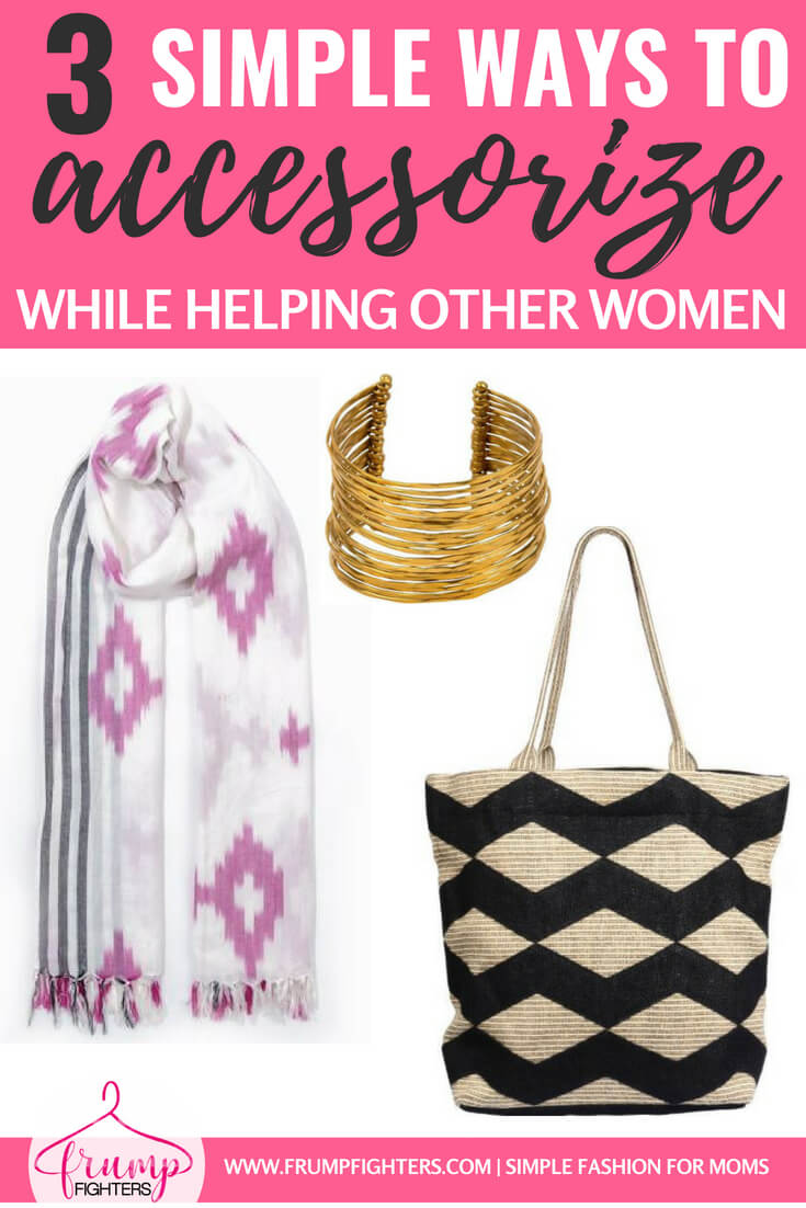 If you love to empower other women and also love style, here is the perfect resource for you! Women from around the world are creating gorgeous accessories to help rid themselves of a life of poverty and you can help! Grab a scarf or tote bag to take your outfits to the next level while helping women send their children to school and put food on their tables. #tips #fashion #mom #ideas #style #tricks #momlife #outfits #easy #jewelry #accessories