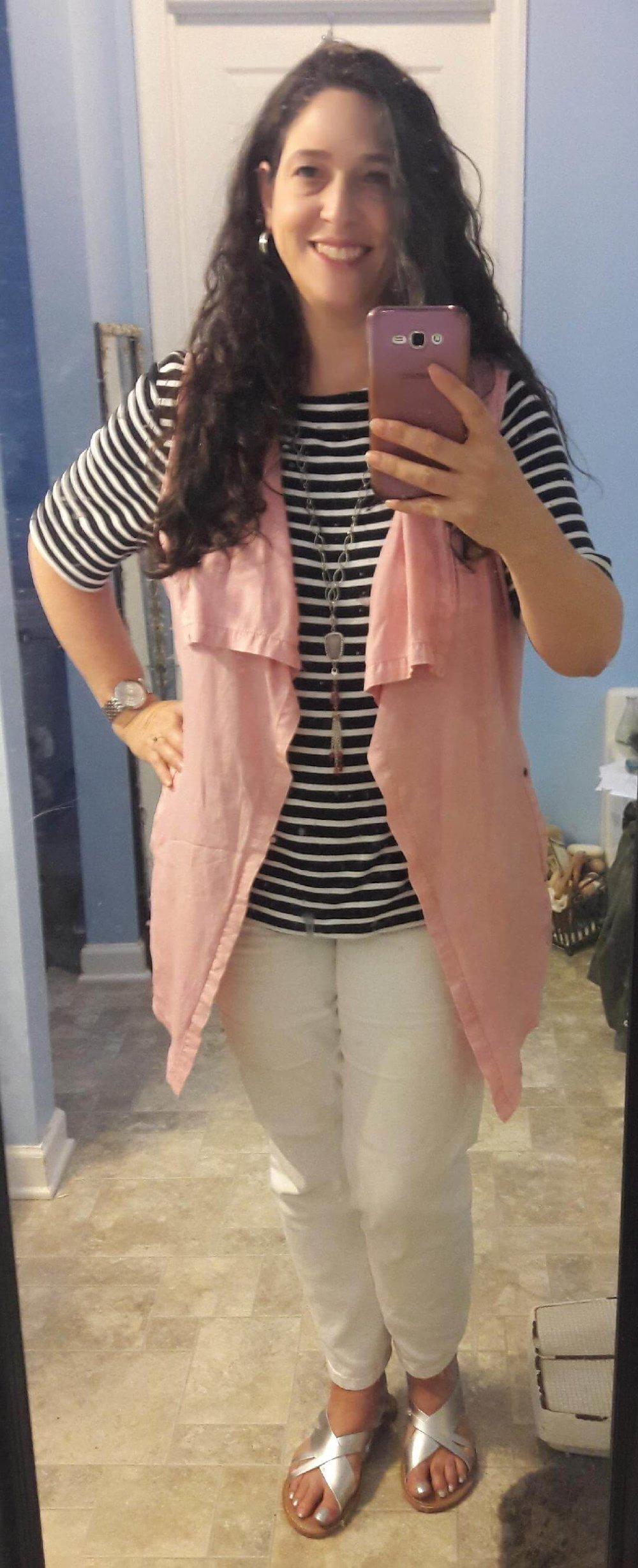 _Stripe tee pink vest - Laurie Liss.jpg