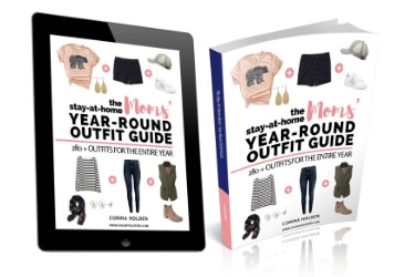 Stay at home mom outfit guide book