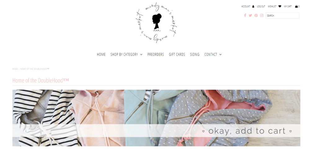 Mindy Mae's Market Website Review - Ampersand & Avenue Double Hooded Sweatshirt.PNG