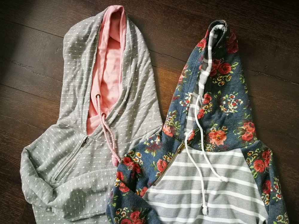 I finally ordered two Double Hood Sweatshirts from MMM!