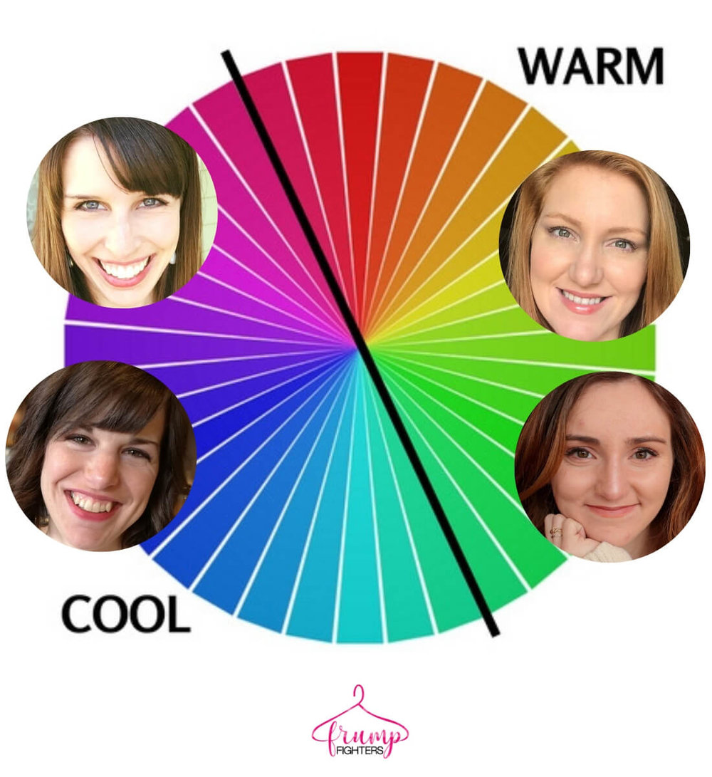 What is Seasonal Color Analysis - the warm versus cool model.