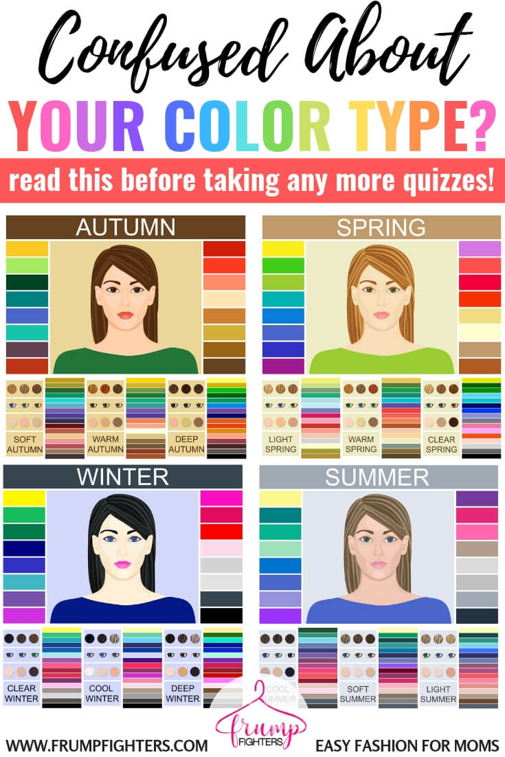 Just can't figure out your color type? Seasonal color analysis can be super confusing if you don't know what you're even looking for. Often charts with eye and hair color help but don't have your exact match, so you're left unsure. This blog post gives a simple and easy to understand explanation of how color analysis works! You'll FINALLY have a better understanding of how to find your color type. #color #colorpalette #coloranalysis #seasonalcoloranalysis #wardrobe #style #fashion