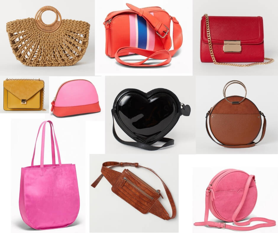 Fashion Forecast for Spring & Summer 2019 includes structured purses & totes, especially with a crossbody strap!  It's easy to include this trend in your closet for a chic, casual or dressy look. #style #trends #wardrobe #2019 #purses