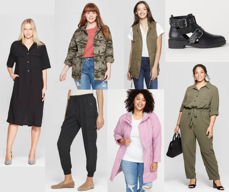 Fashion Forecast for Spring & Summer 2019 includes utility jackets, vests and pants.  It's easy to include this trend in your closet for a chic, casual look. #style #trends #wardrobe #2019