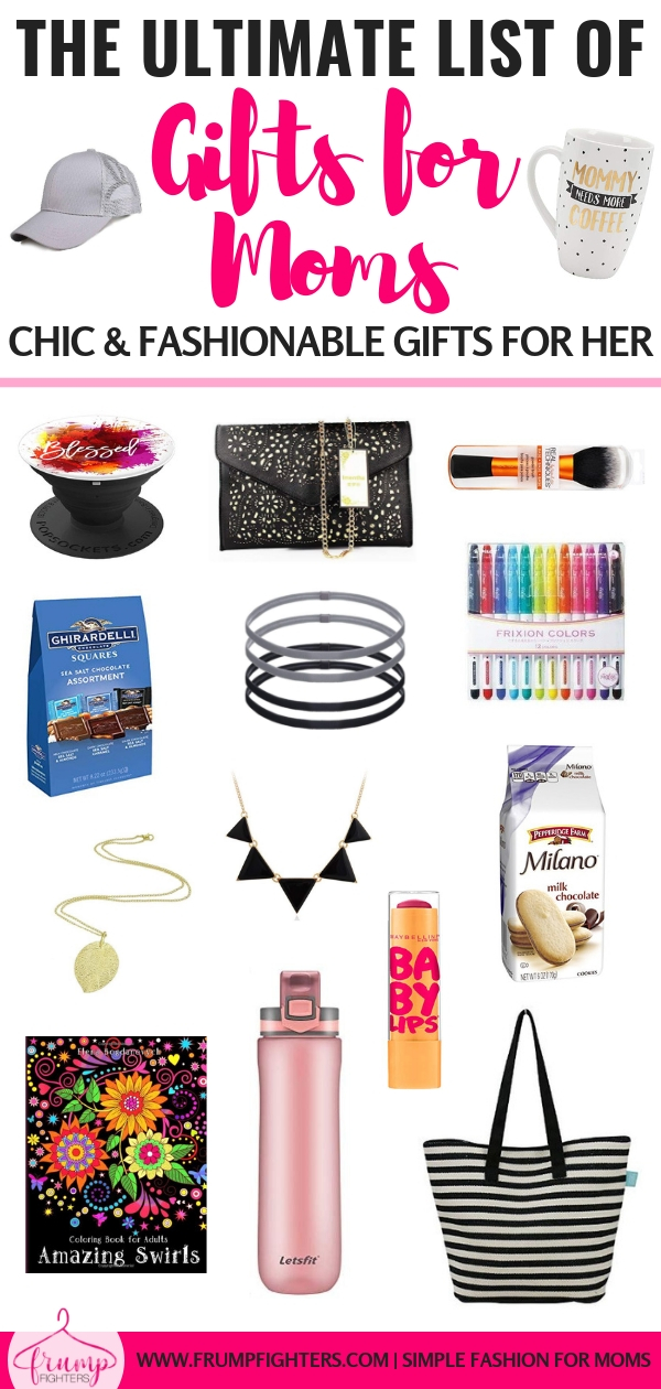 You have so many amazing women in your life, don't you want to spoil them this Christmas?! Here is the ultimate list of chic, fashionable gifts for your mom, sister, bestie, or even your kid's favorite teacher! Whether you are planning ahead or shopping last minute there's sure to be the perfect budget-friendly Christmas gift for you to stuff in her stocking or under the tree! #gifts #stockings #mom #ideas #list #amazon #wishlist #giftsforher #budgetfriendly