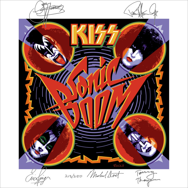 Oversized Album Cover Prints Available on Official KISS
