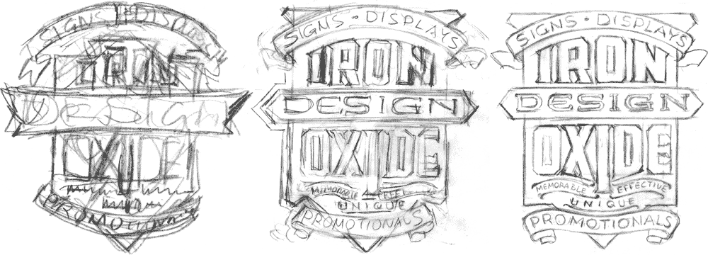 Iron Oxide Roughs 1