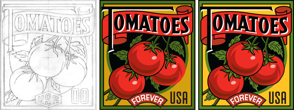 Tomatoes Color Roughs
