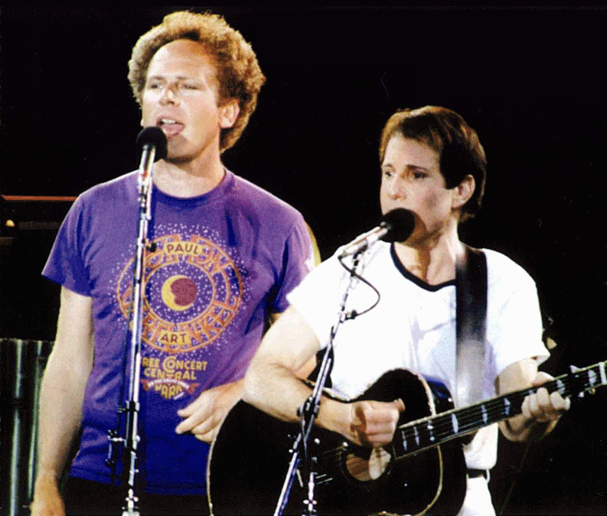 Simon & Garfunkel w/T-Shirt