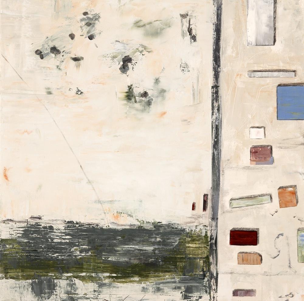 Rail Yard, Mecca CAacrylic on canvas36 x 36