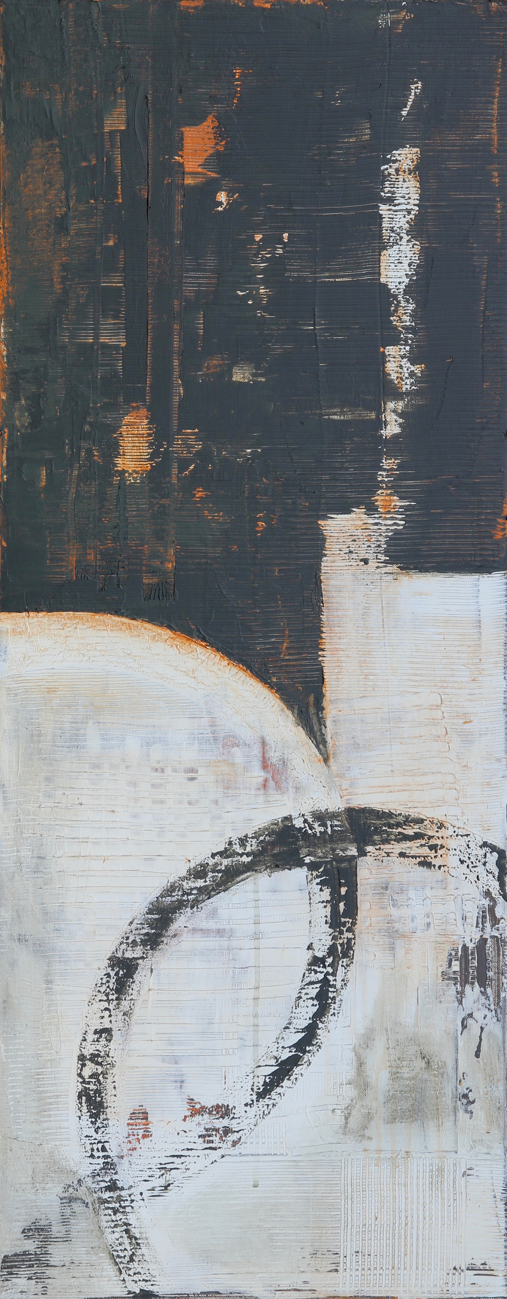 Circulus #3acrylic on canvas40 x 16