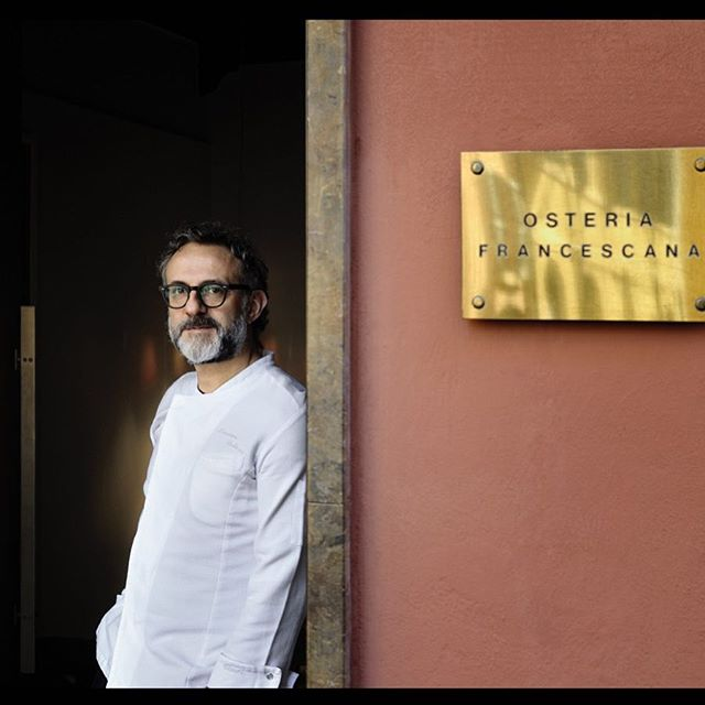We have the perfect extra-special Father's Day gift for a #pasta obsessed papa, and it doesn't involve traveling to Modena... a once-in-a-lifetime chance to experience the food of @osteria_francescana ⭐️⭐️⭐️ in NYC, and to meet @massimobottura himself 🤝 Reserve on @tockhq - www.exploretock.com/nibblesqueak #threemichelinstars #datenight #massimobottura #parentsnightout #carbsafterdark #outpastbedtime