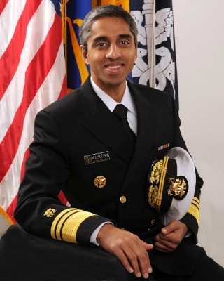 <b>Vivek H. Murthy</b> <br> Surgeon General of US