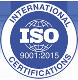 Certyfikat ISO9001:2015 – to certyfikat, który gwarantuje klientom, że oznaczone nim produkty i usługi utrzymują niezmiennie wysoki poziom jakości. Został opracownay przez ekspertów z 95 krajów i działa jako narzędzie do ciągłego usprawniania procesów jakości. Pozwala firmom dostosowywać się do dynamicznie zmieniajacego się świata i rosnących potrzeb klientów.