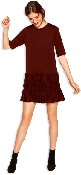 maroon zara dress.png