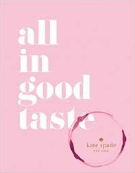 Kate Spade: all in good taste