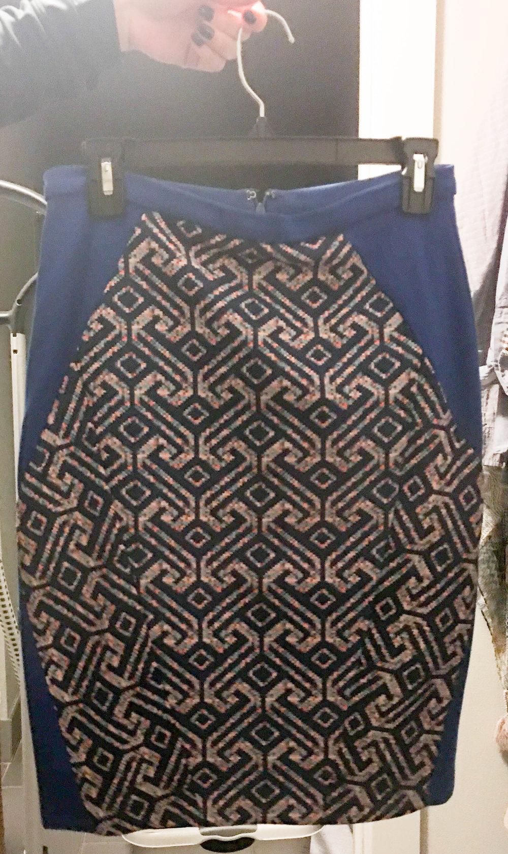 Blue patterned Pencil Skirt Edited.jpg