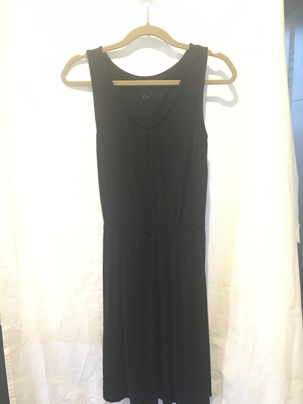 Black Merona Tshirt Dress.jpg