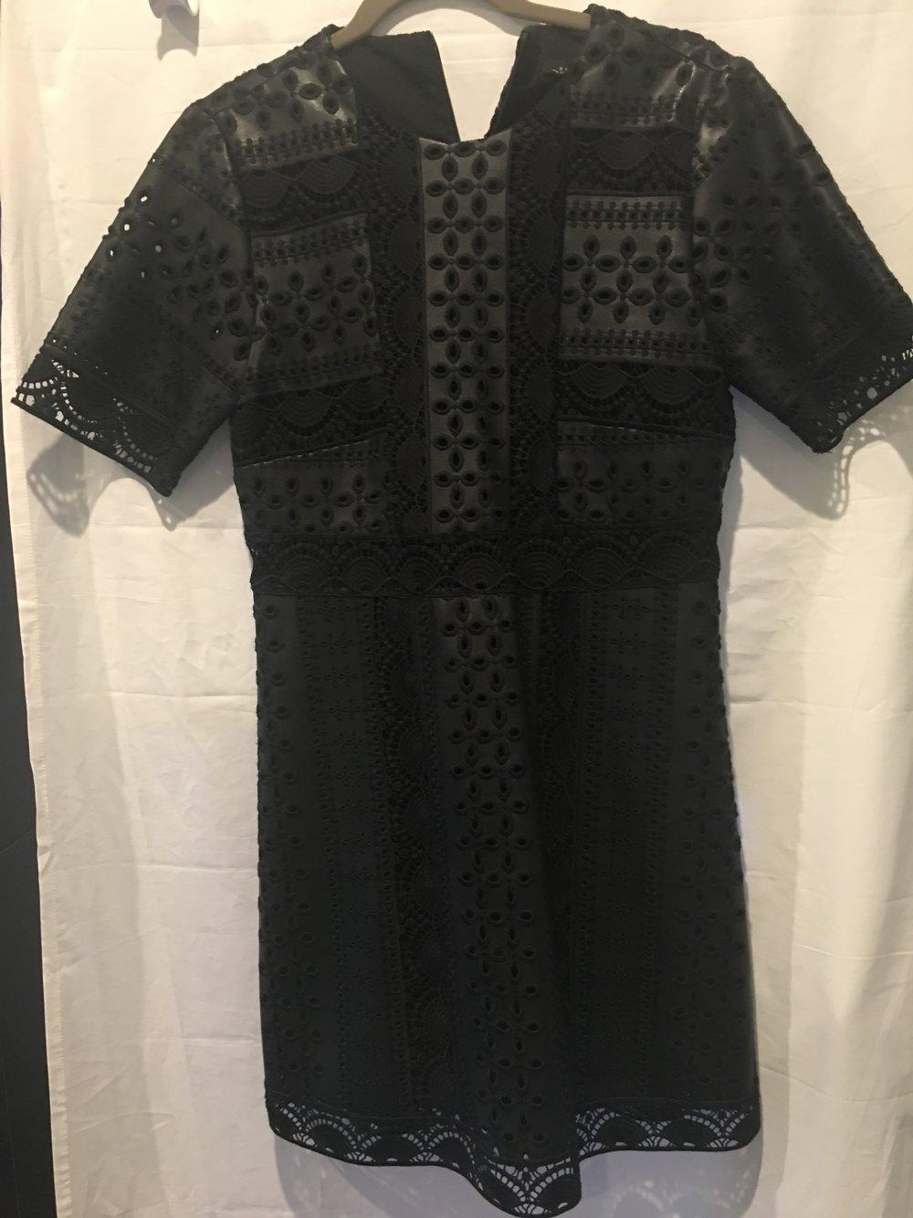 Black Leather Zara Embroidered Dress.jpg