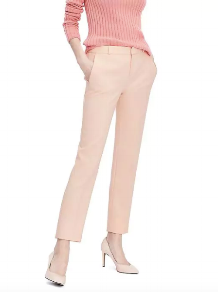 My favorite Avery pant in a pretty blush color