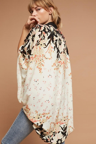 A lightweight kimono is an instant outfit booster.