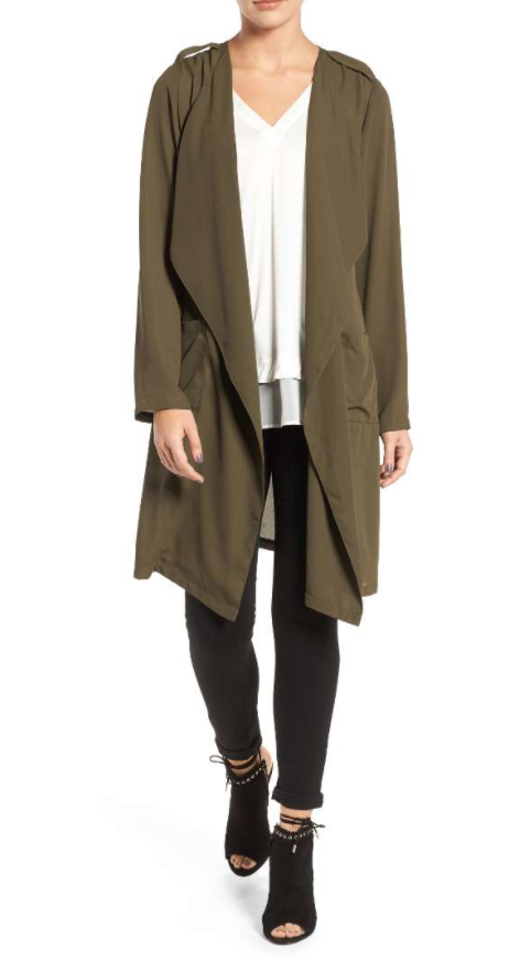 A perfect spring/summer trench on major sale.