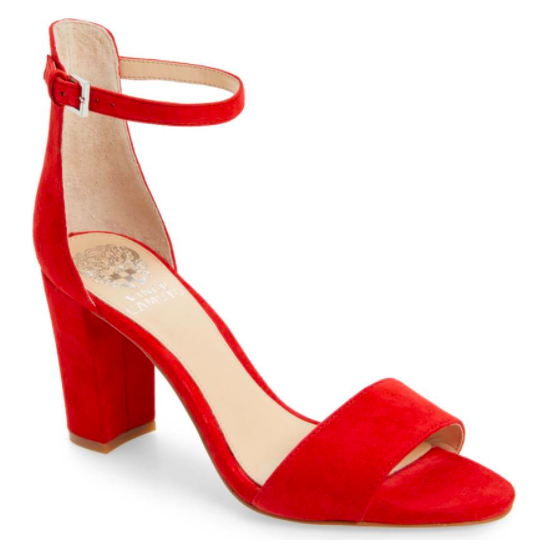 These won't last as long as the Stuart Weitzman version but for a pair of bright red sandals, these will take you through at least 1 or 2 summers.