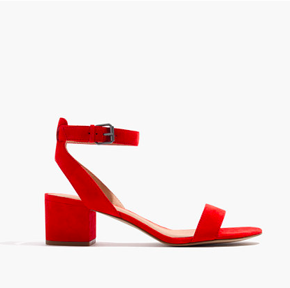 If you're looking for a lower heel these Madewell beauties should do the trick.