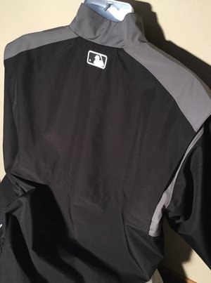 Majestic MLB Style Umpire 1/4 Zip Pullover Plate Jacket — The ...