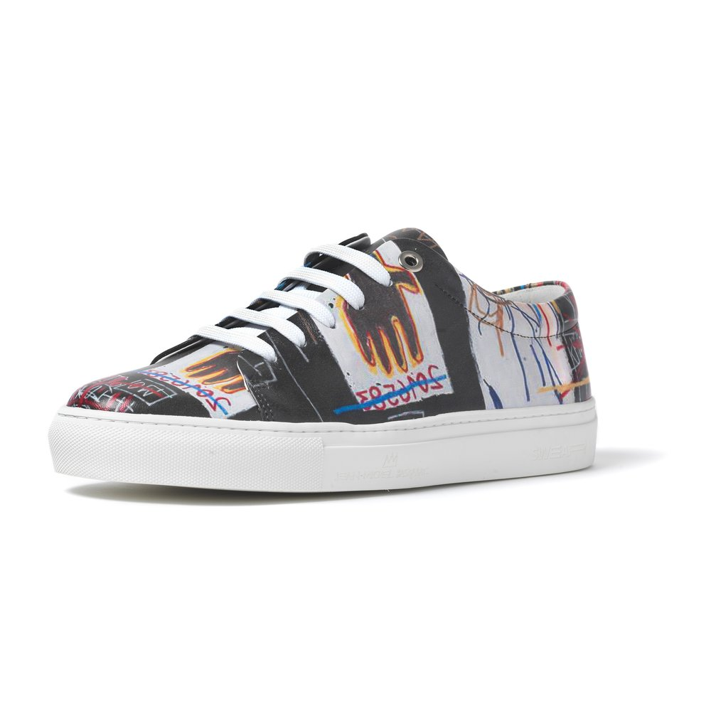 BASQUIAT- LOW TOP SNEAKER BLACK - BLACK M - £200 - BROWNS FASHION.jpg