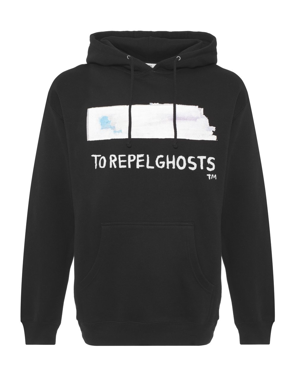 BASQUIAT - TO REPEL GHOST HOODIE - BLACK - £205 - BROWNS FASHION.jpg