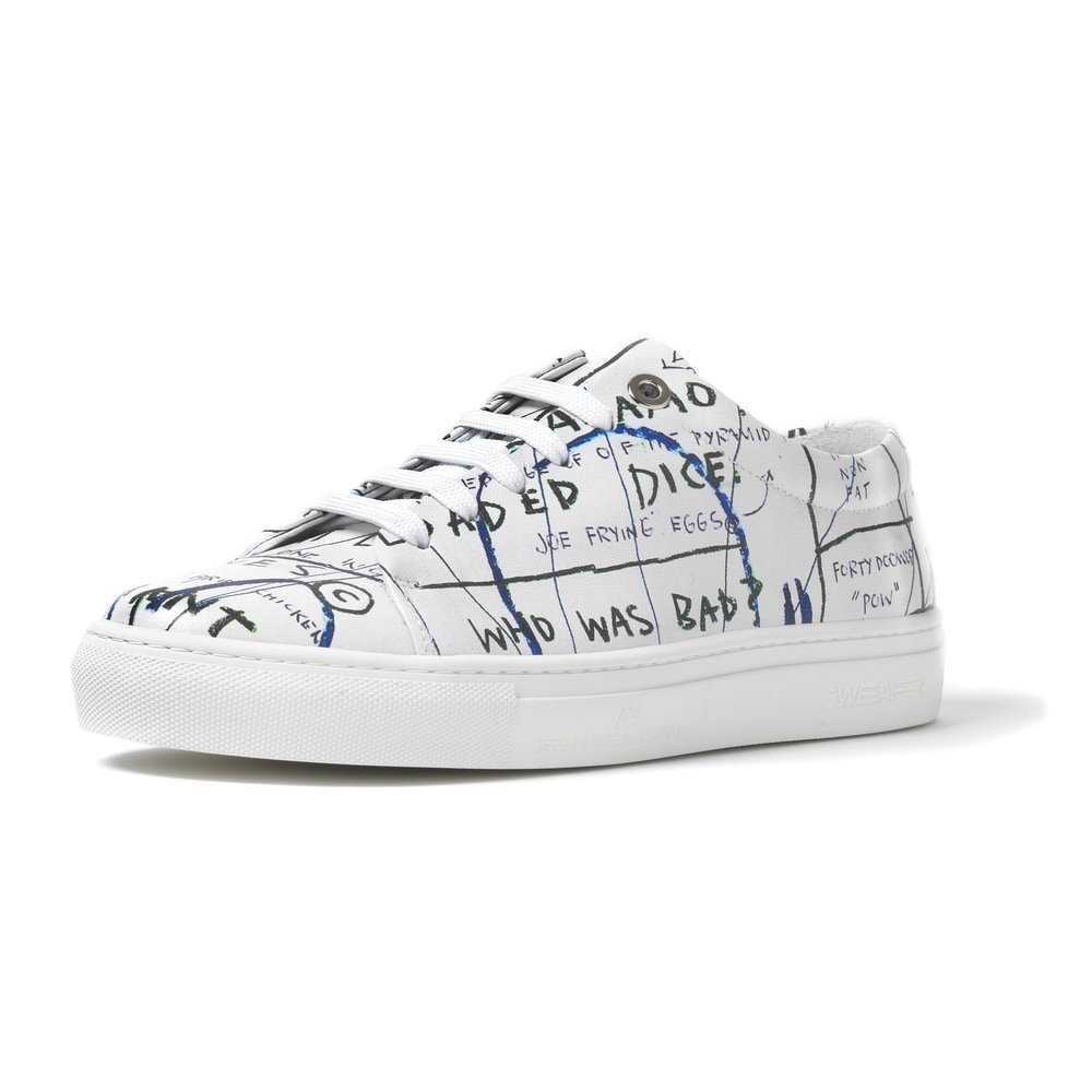 BASQUIAT - LOW TOP SNEAKER WHITE - WHITE M - BROWNS FASHION.jpg