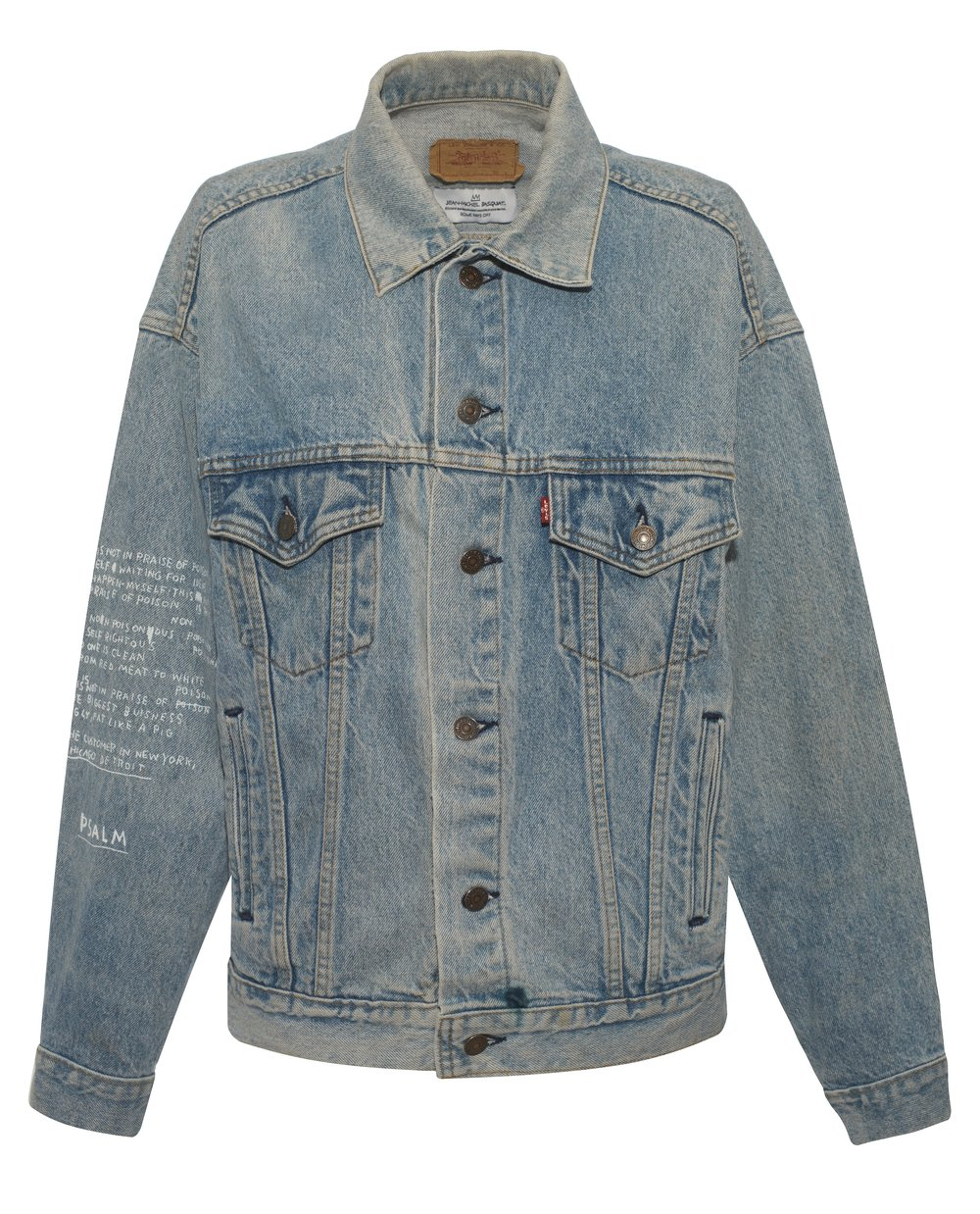 BASQUIAT - DENIM NOTEBOOK JACKET WITH WRITING - £255 - BROWNS FASHION.jpg