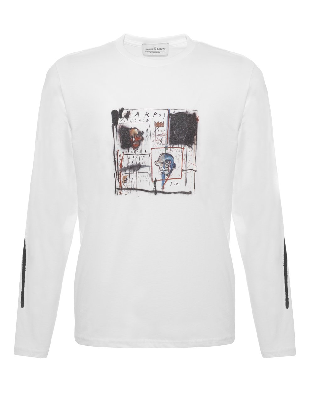 BASQUIAT - 1981 LONG SLEEVS SWEATSHIRT - WHITE M - £100 - BROWNS FASHION.jpg
