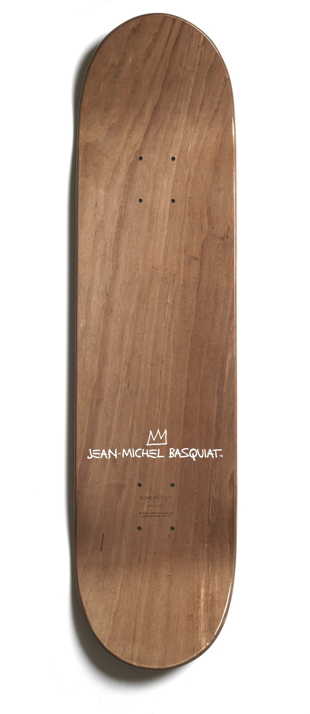 BASQUIAT - BOONE MONA LISA SKATEBOARD - £150 - IMAGE 1 - BROWNS FASHION.jpg